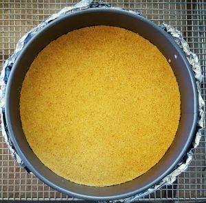 cheesecake base crust