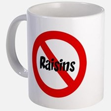 anti raisin mug