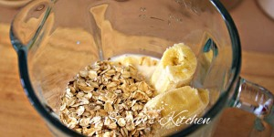bananas and oats